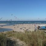 strand weer in vrouwenpolder Zeeland